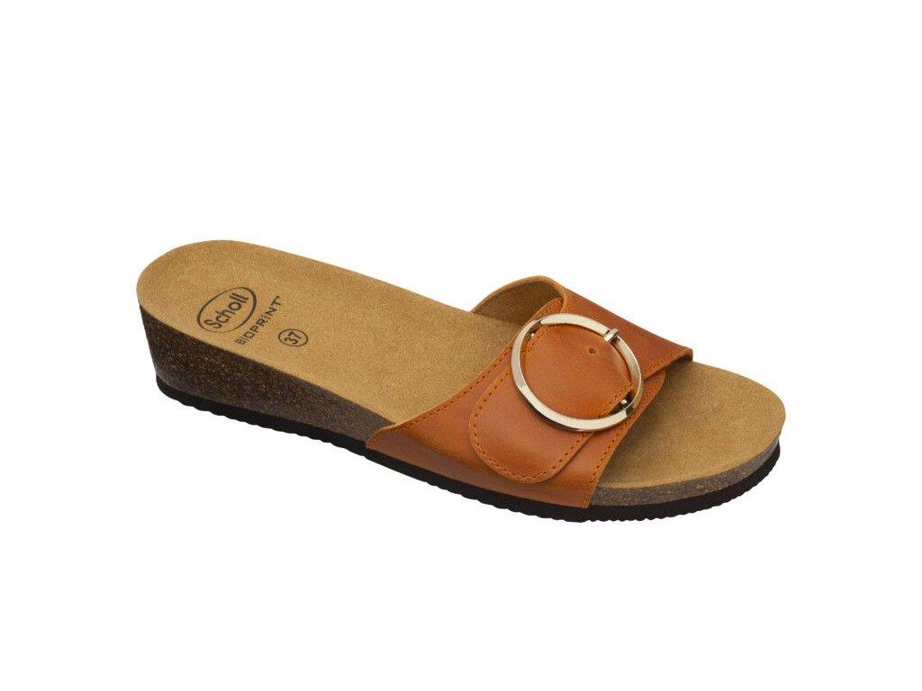 Scholl AMALFI MULE - dámské zdravotní pantofle (Velikost 37)