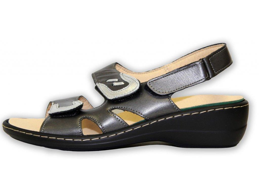 Patrizia dámské sandály na klínku (Velikost 37)