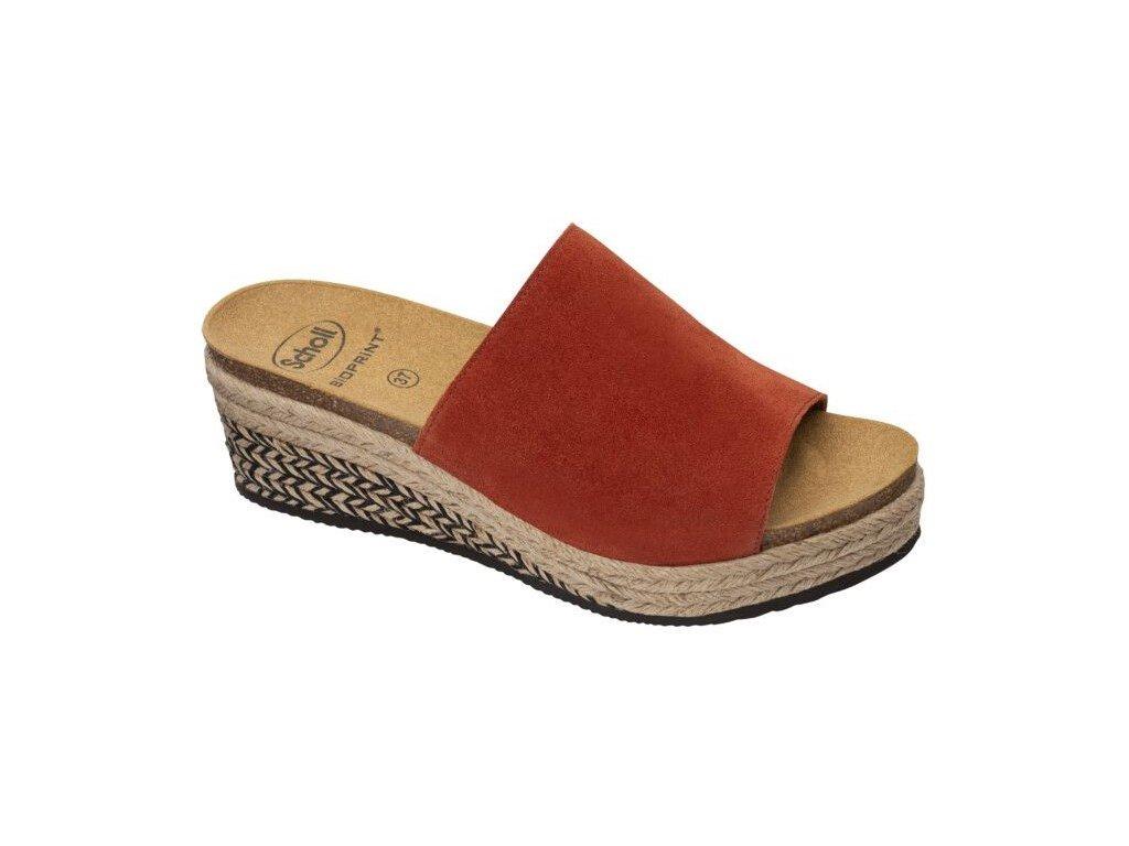 Scholl MALAGA - dámské pantofle na klínku (Velikost 40)