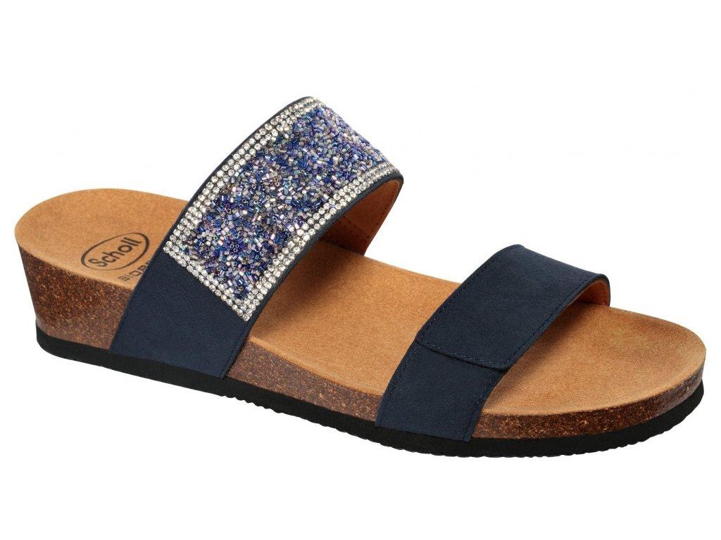 Scholl CECILIA - MicroStrass - dámské pantofle (Velikost 37)