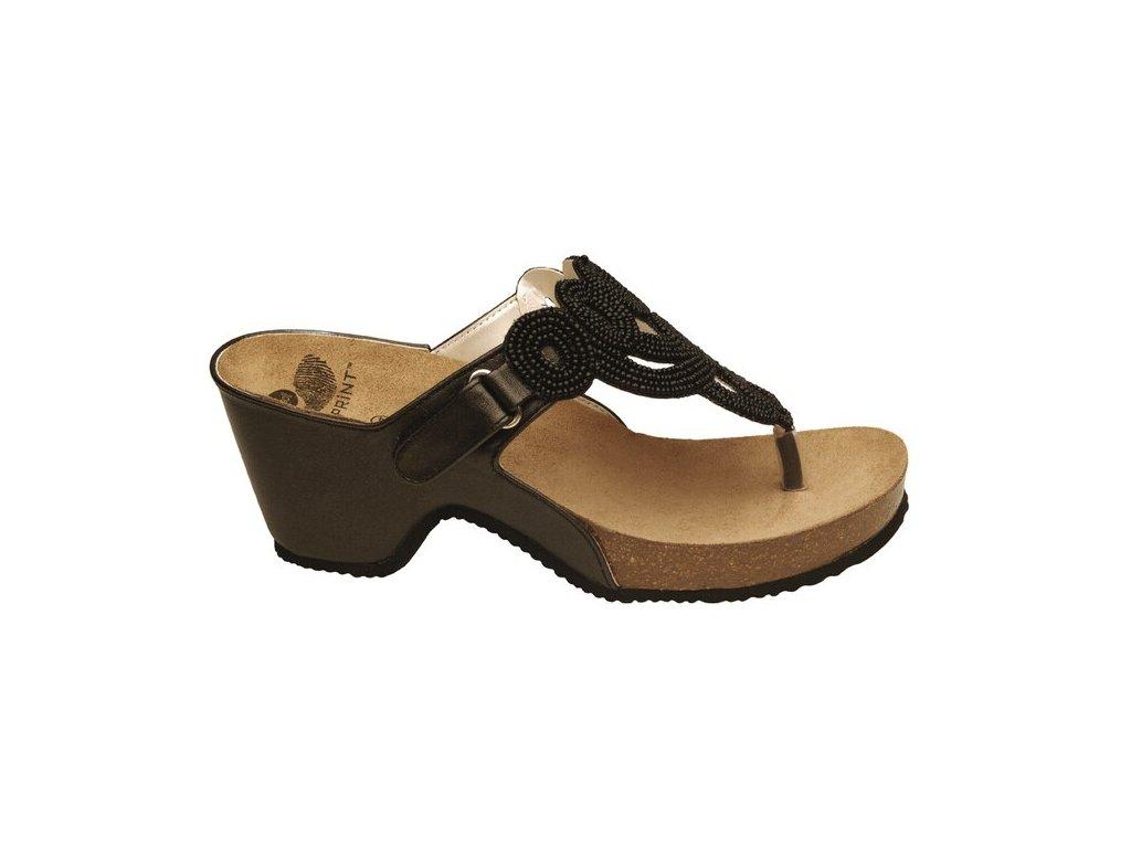 Scholl EMYN - dámské módní pantofle na podpatku (Velikost 36)