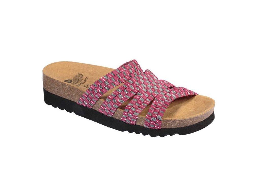 Scholl SAIKI - dámské pantofle (Velikost 39)