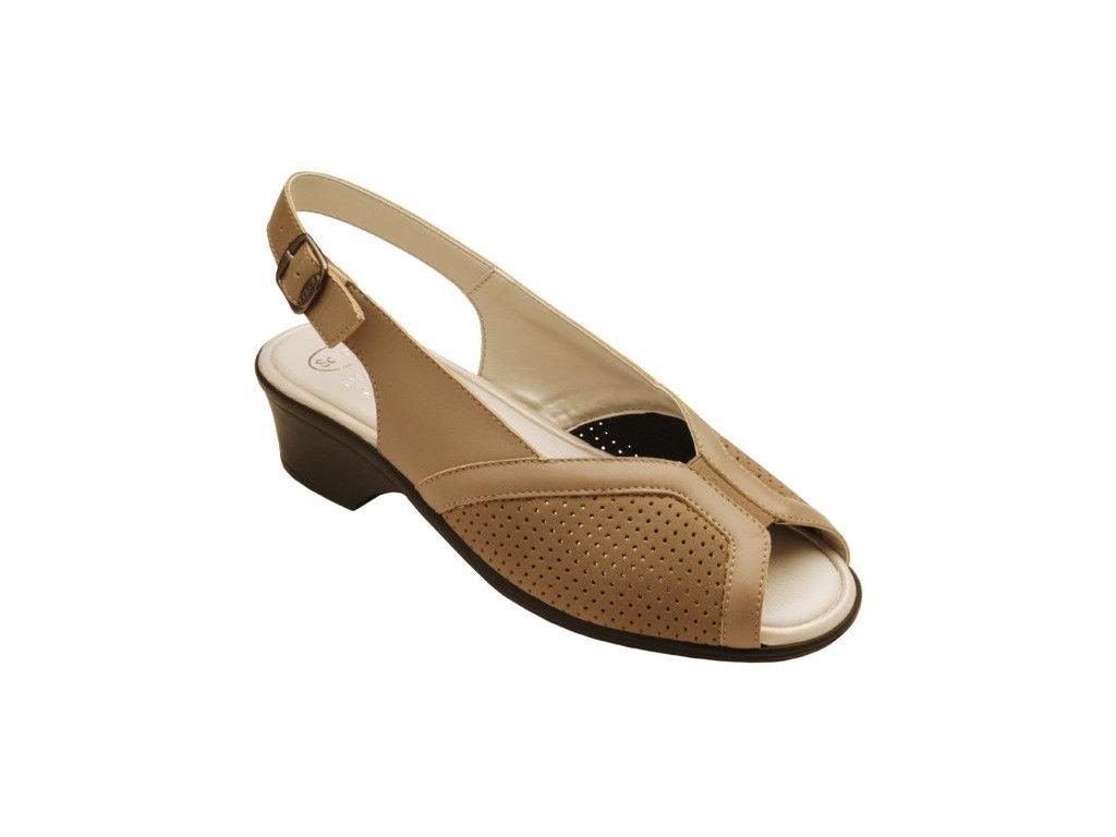 Scholl NOUREL - dámské sandály na podpatku (Velikost 37)