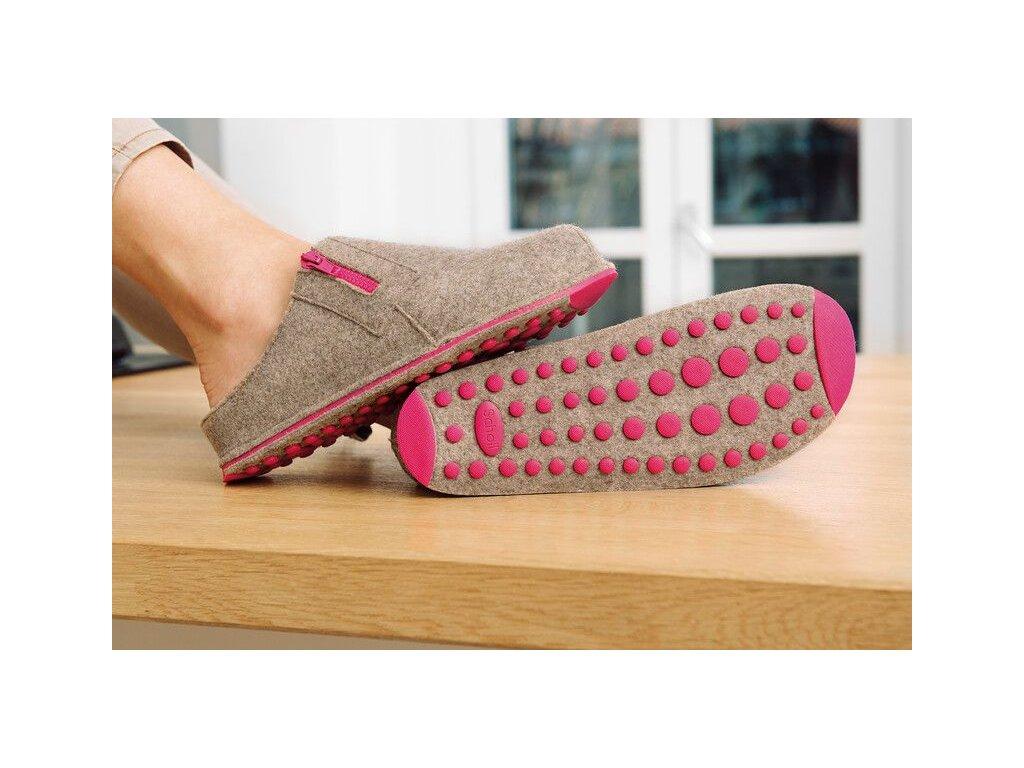 Scholl SPIKEY SS 2 - dámská domácí obuv (Velikost 36)