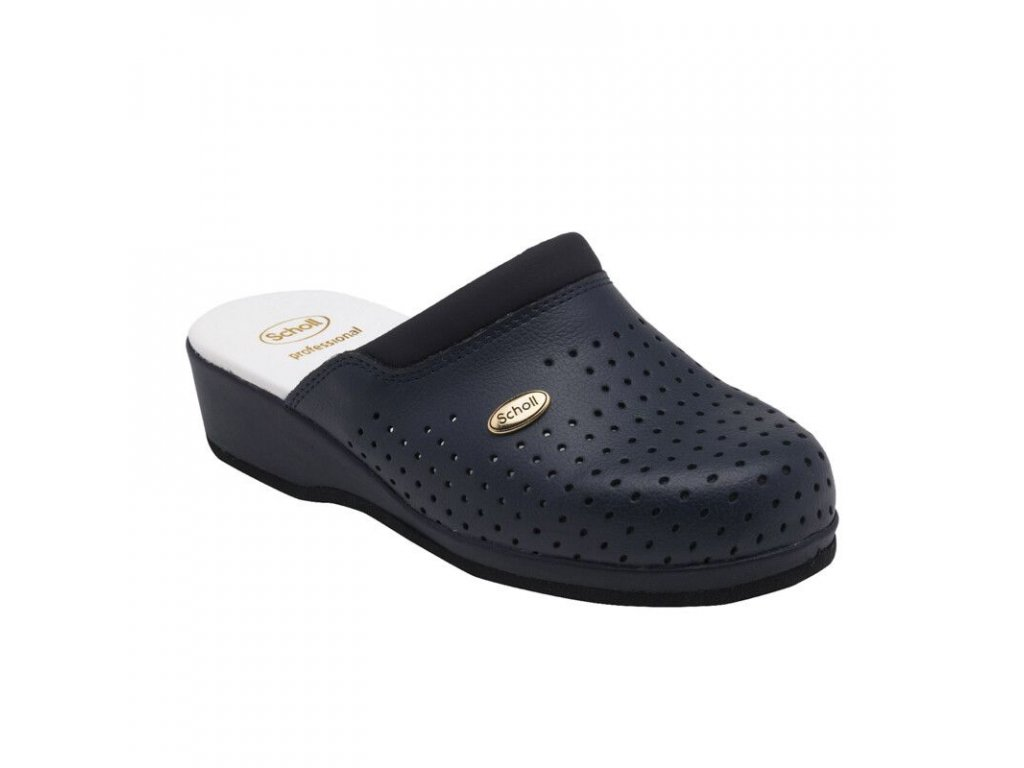 Scholl CLOG BACK GUARD - dámské zdravotní pantofle PROFESIONAL (Velikost 35)