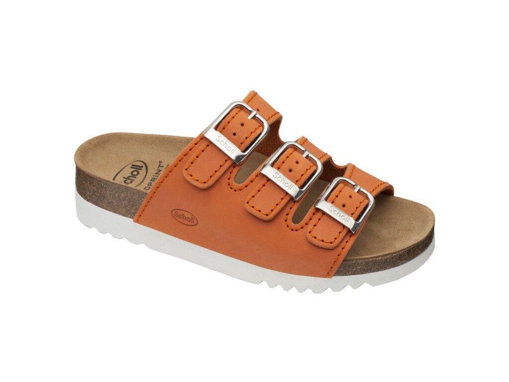 Scholl RIO WEDGE AD - dámské zdravotní pantofle (Velikost 36)