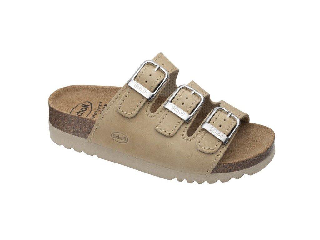 Scholl RIO WEDGE AD - dámské zdravotní pantofle (Velikost 37)