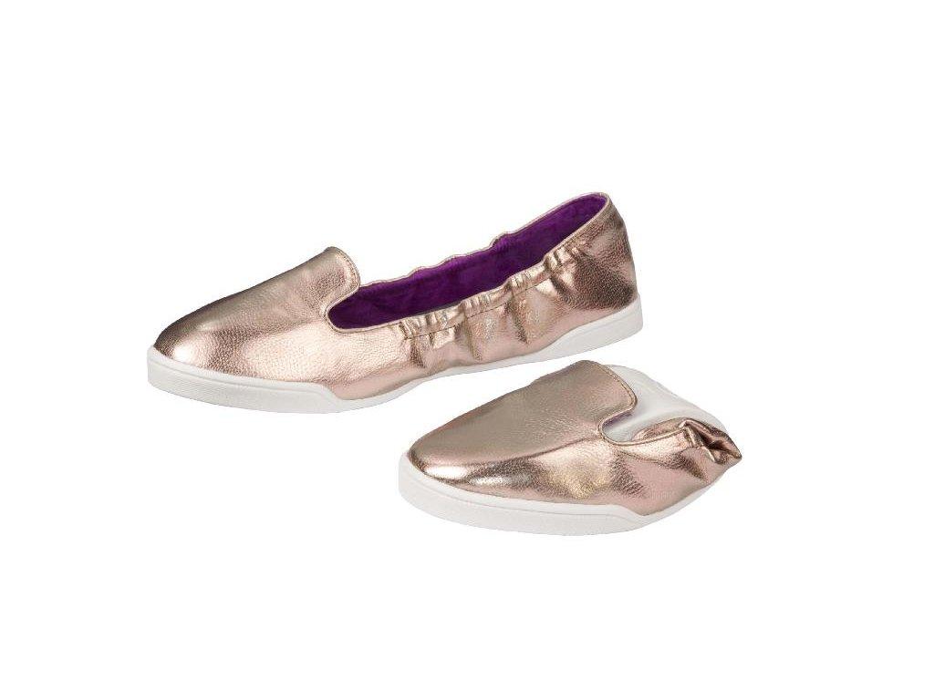 Scholl POCKET SLIP ON - dámské balerínky (Velikost 36)