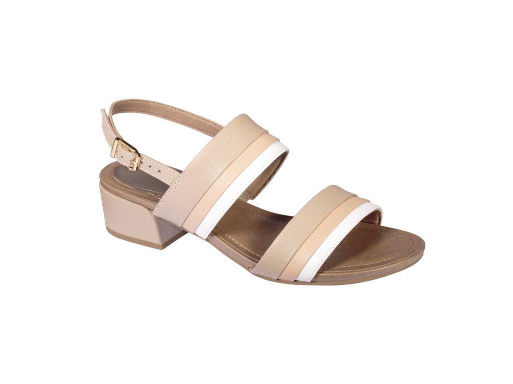 Scholl STEPHANIE dámské  sandále na podpatku (Velikost 37)