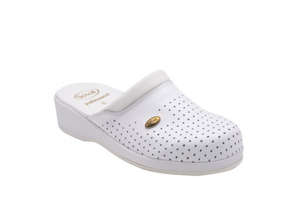 Scholl CLOG BACK GUARD . - zdravotní pantofle PROFESIONAL (Velikost 41)