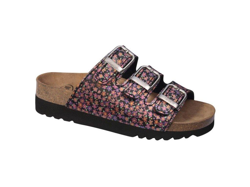 Scholl RIO WEDGE -  dámské pantofle (Velikost 36)