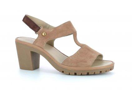 Scholl CALAPUR - dámské sandále na podpatku (Velikost 37)