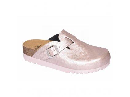 Scholl AMIATA  domácí pantofle růžové (Velikost 39)