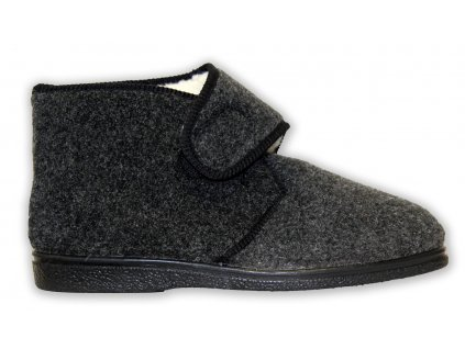Domácí zateplená obuv (Velikost 43)
