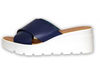 Patrizia letní pantofle na klínku (Velikost 39)