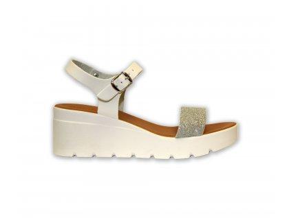 Patrizia letní sandále na klínku (Velikost 38)