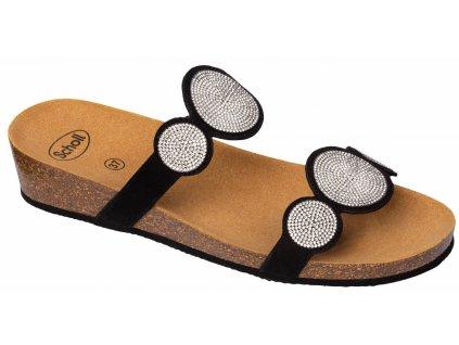 Scholl SHARON 2 STRAPS - dámské pantofle (Velikost 36)