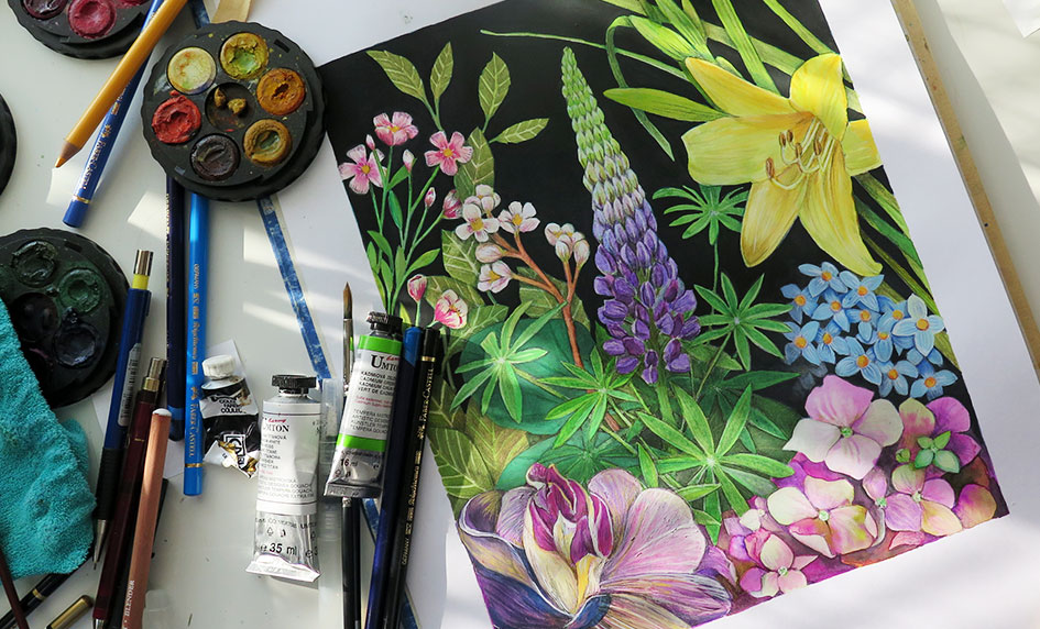 kreslím a maluji-tisky k prodeji