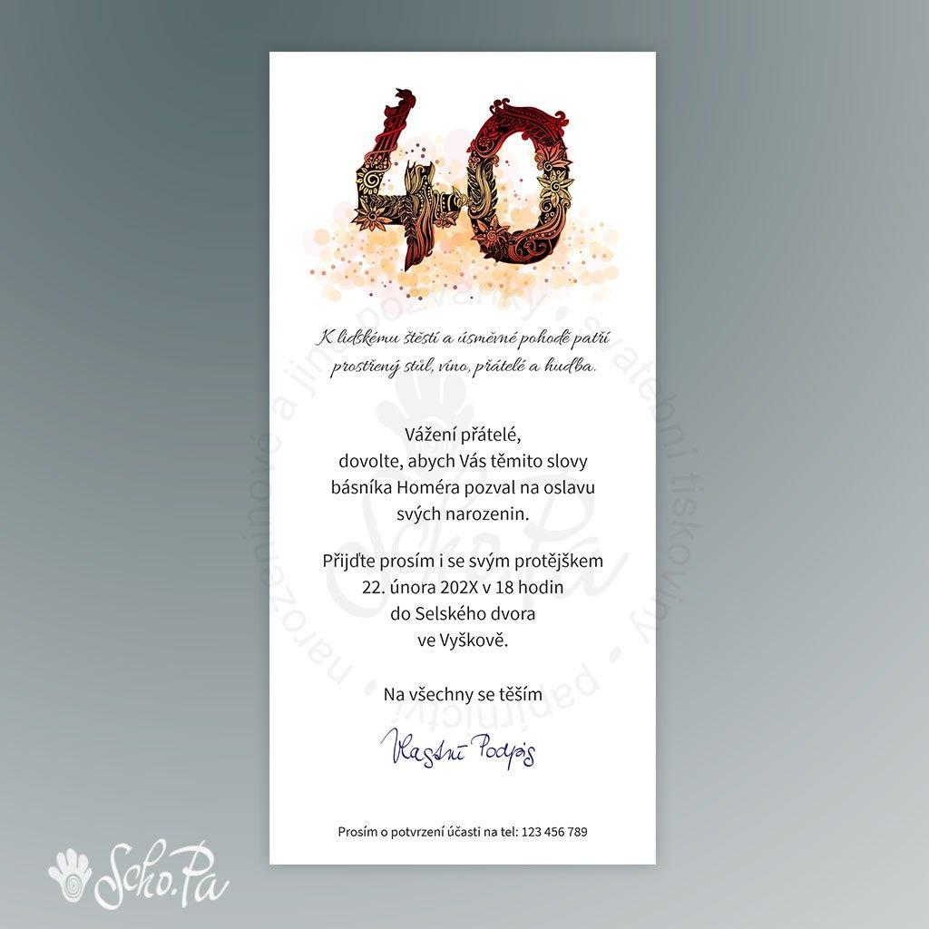 pozvánka V131 (výročí 40)