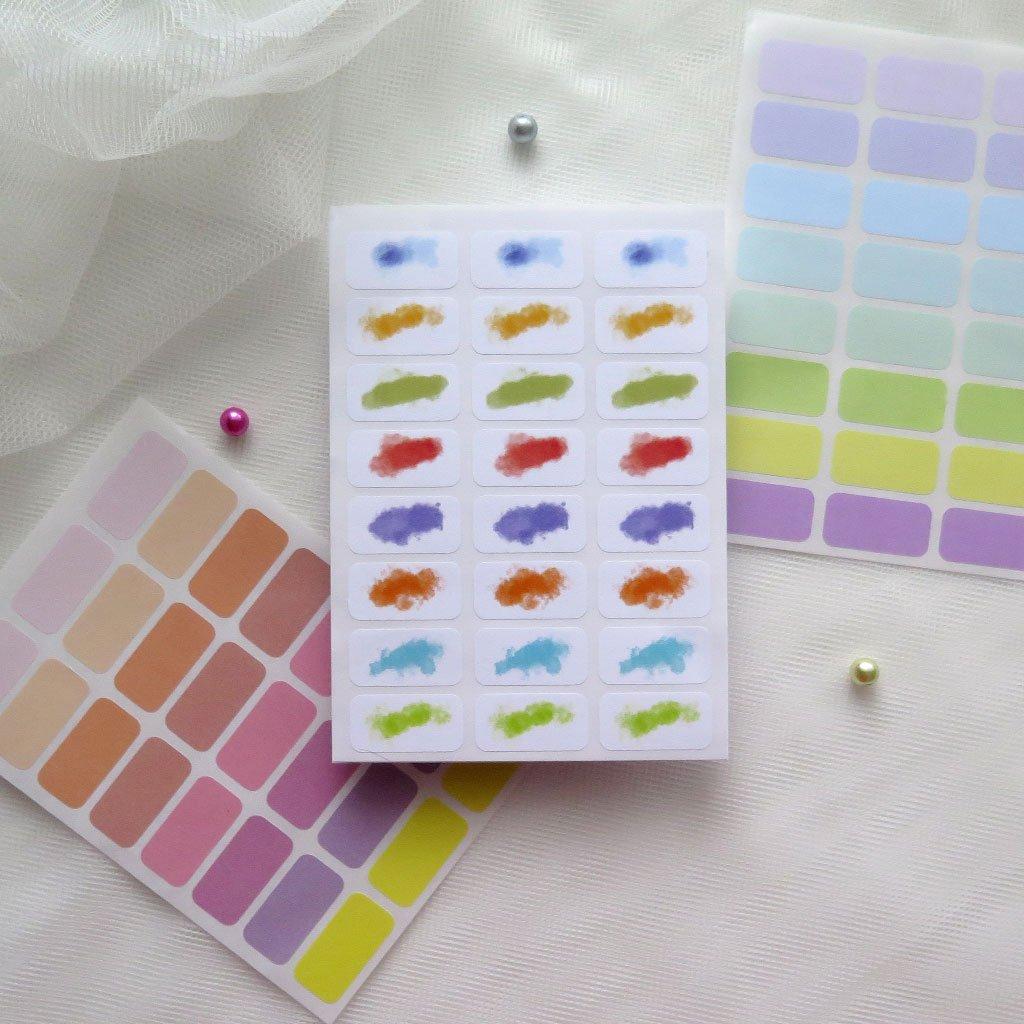 samolepky Barvy a smouhy 1