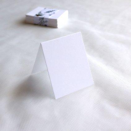 jmenovka pastel bílá