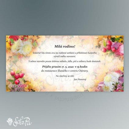 podzimni pozvanka sipky listy vres