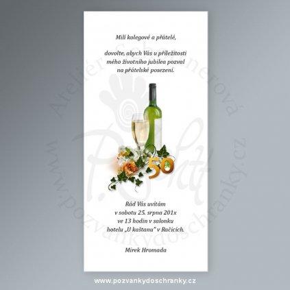 pozvánka V154 10x21 (výročí 40)