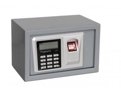 Digitální trezor s otiskem prstu 310 x 200 x 200 mm