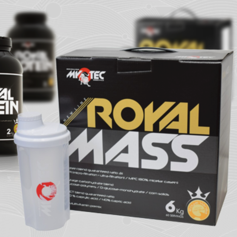 Recenze na gainer Royal Mass