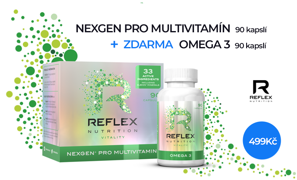 AKCE Nexgen pro + Omega 3 ZDARMA