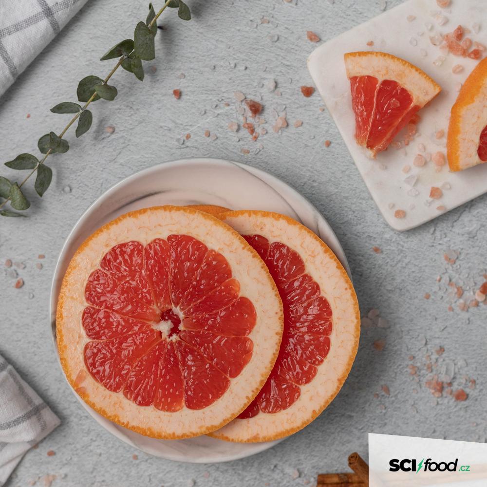 Extrakt z grapefruitových semínek obsahuje silné antimikrobiální látky a účastní se tak podpory pro zdravé trávení.