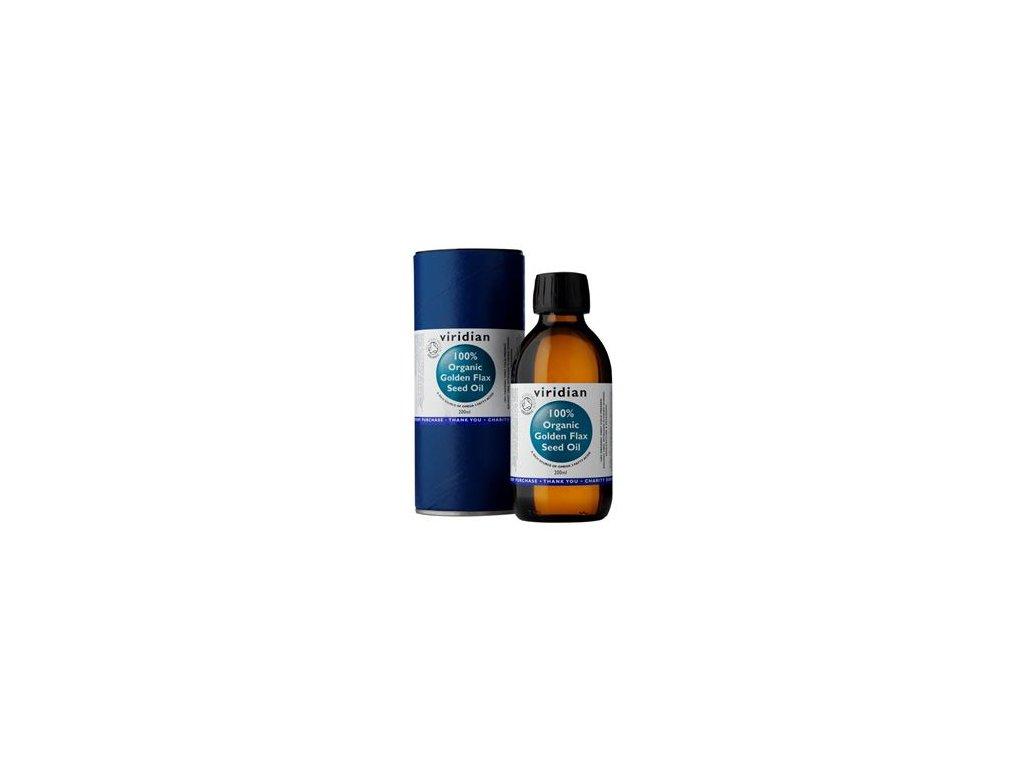 Golden Flax Seed Oil 200ml Organic