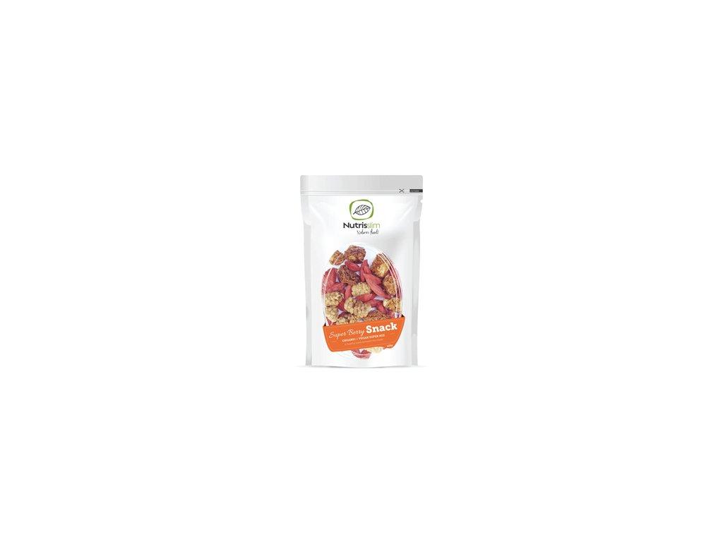 Super Berry Snack Bio 125g (Moruše, mochyně, goji)
