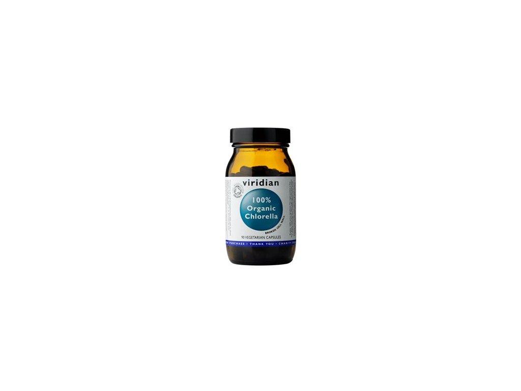 Chlorella 90 kapslí Organic