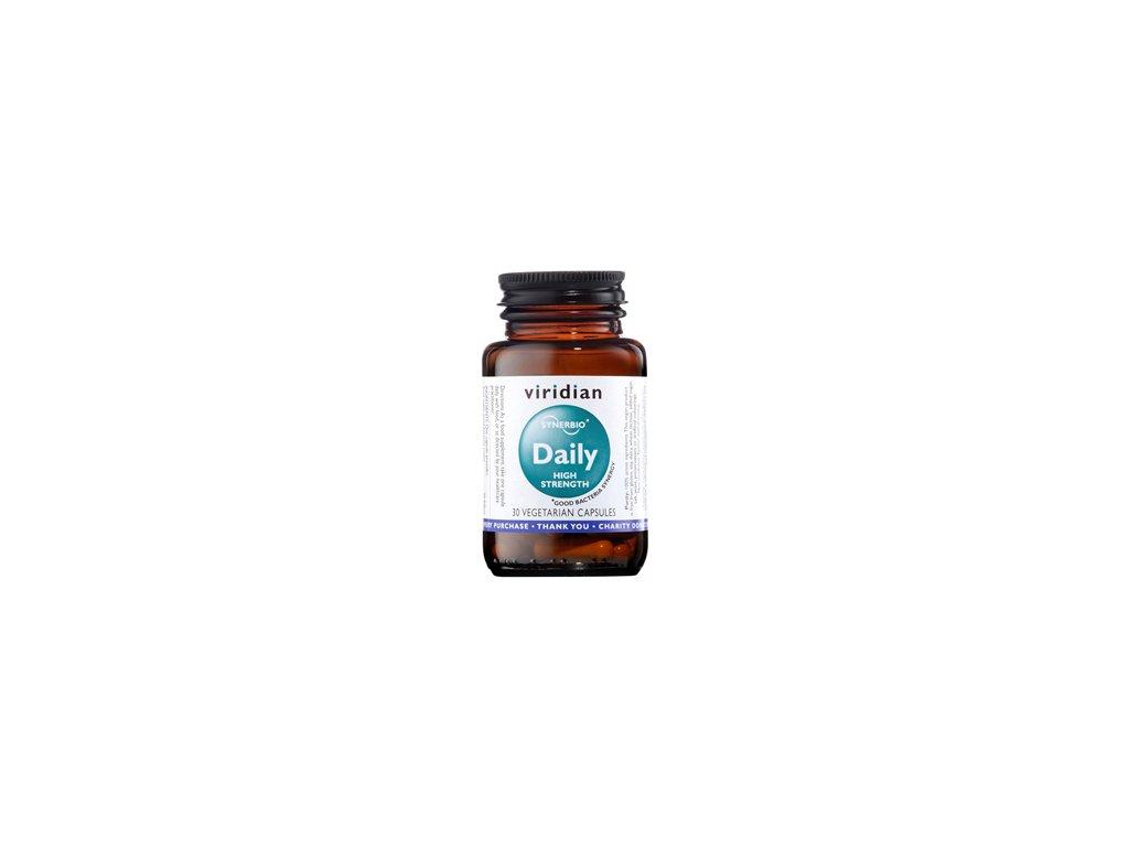 Synerbio Daily High Strength 30 kapslí (Směs probiotik a prebiotik)