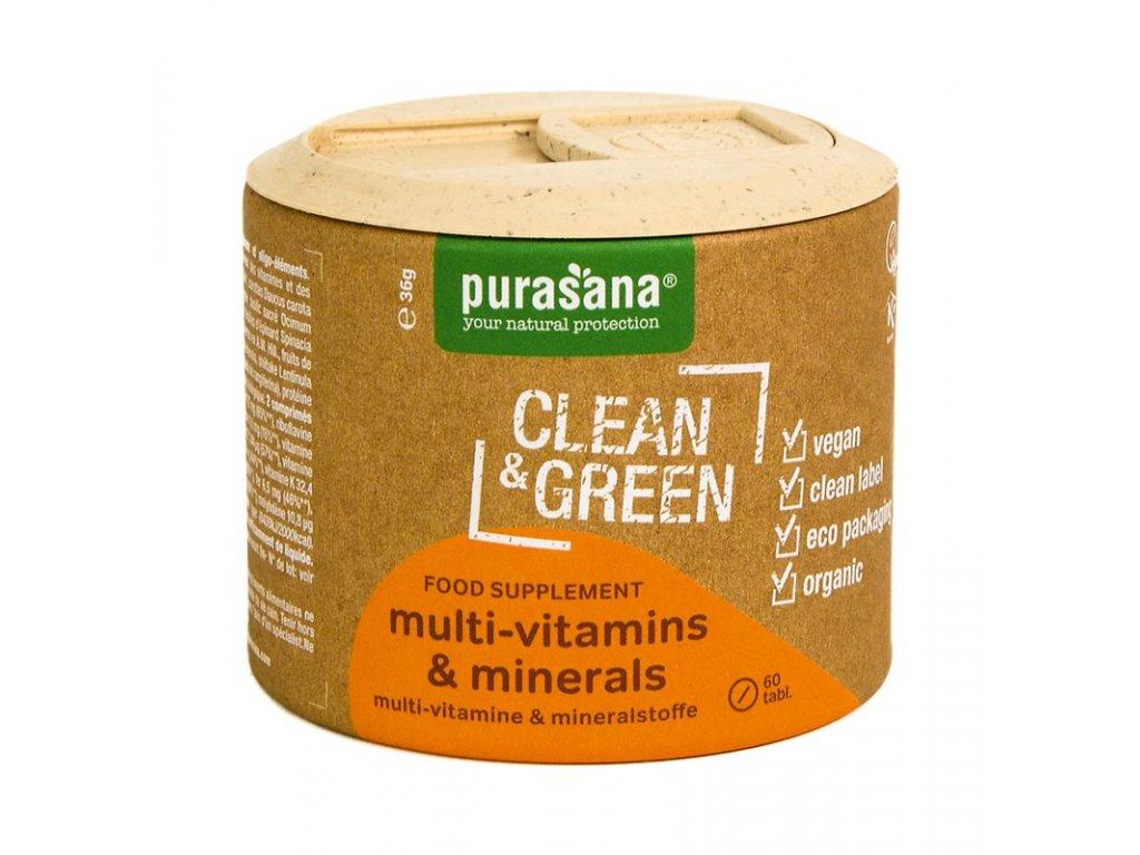 Multi Vitamins & Minerals BIO 60 tablet (Multivitamíny a minerály)