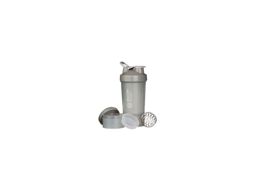 Šejkr ProStak se zásobníkem 650ml šedý