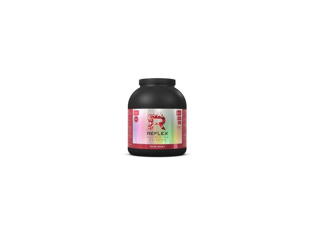 100% Whey Protein 2kg jahoda a malina + BCAA 200 kapslí
