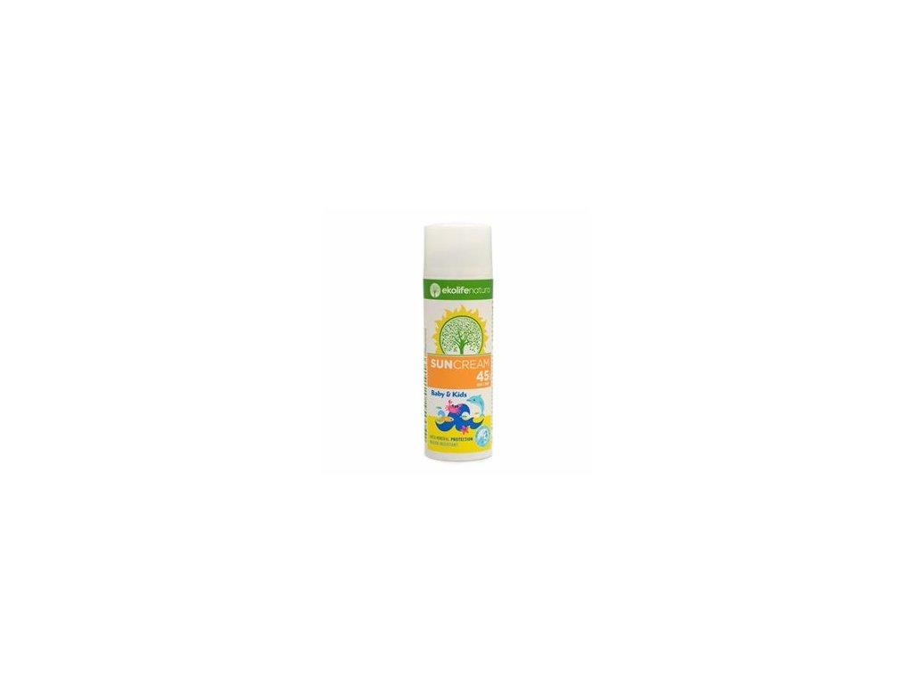 Sun Cream Baby and Kids SPF45 50ml