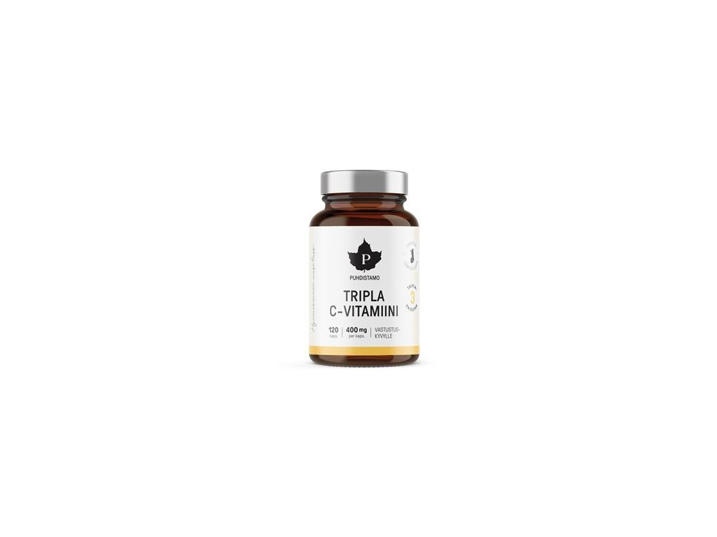 Triple Vitamin C 120 kapslí