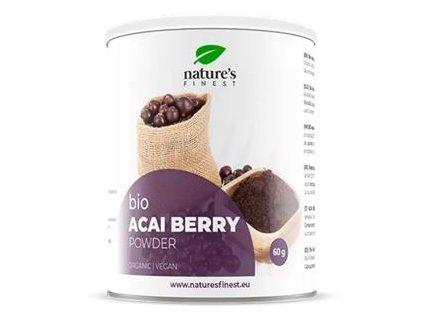 Acai Berry Powder 60g Bio (Prášek z plodů Acai)