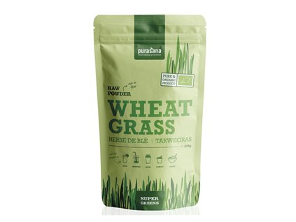 Wheat Grass Raw Powder BIO 200g (Zelená pšenice)