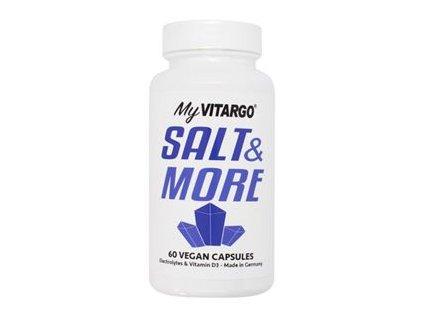 Salt & More 60 kapslí (Směs minerálů s vitamínem D3 a K2)