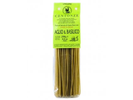Pasta Aglio & basilico (Česnek & bazalka) 250g