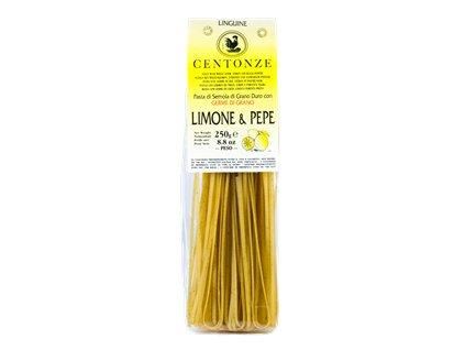Pasta Limone & pepe (Těstoviny citrón & černý pepř) 250g