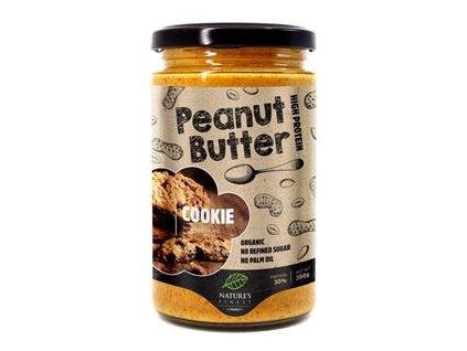 Peanut Butter Cookie Bio 350g (Bio Arašídový krém příchuť sušenky)