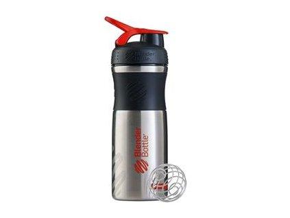Sport Mixer® nerezový červené logo