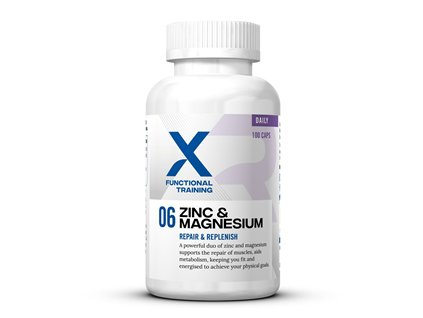 X Functional Training 06 Zinc and Magnesium 100 kapslí