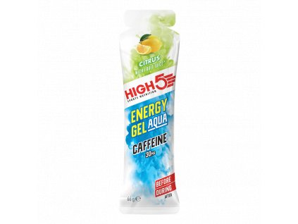 Energy Gel Aqua Caffeine 66g citrus