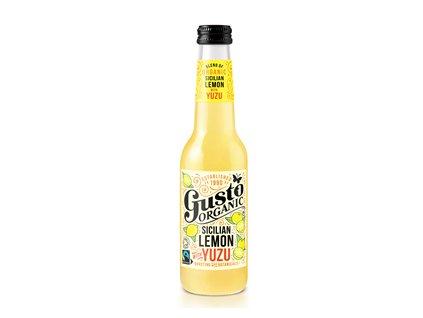 Gusto Organic Sicilian Lemon Yuzu 275ml